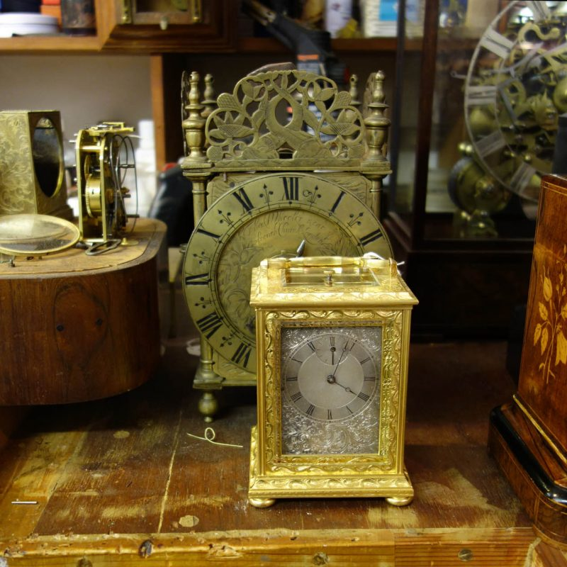 Have clock will travel.  The story of the carriage clock.