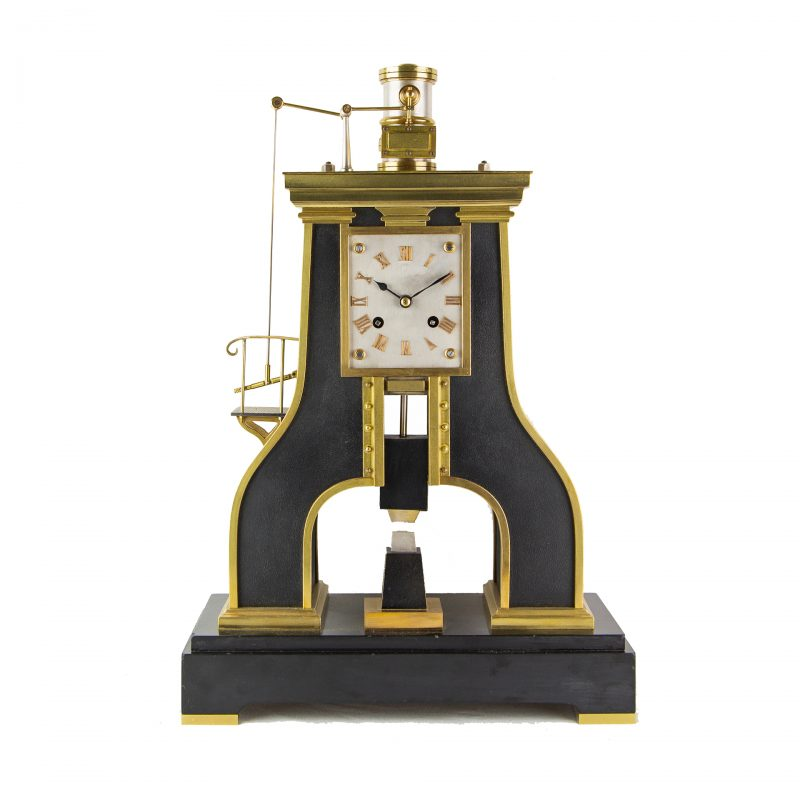 Guilmet-steam-hammer-clock-for-sale